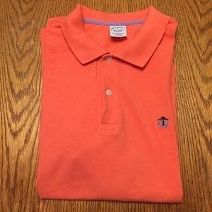 Brooks Brothers Shirts Yellow Polo Shirt Sheep Logo Large Poshmark